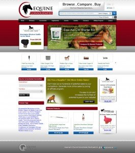 Equine Consolidated Shopping Comparison website for Horse Owners