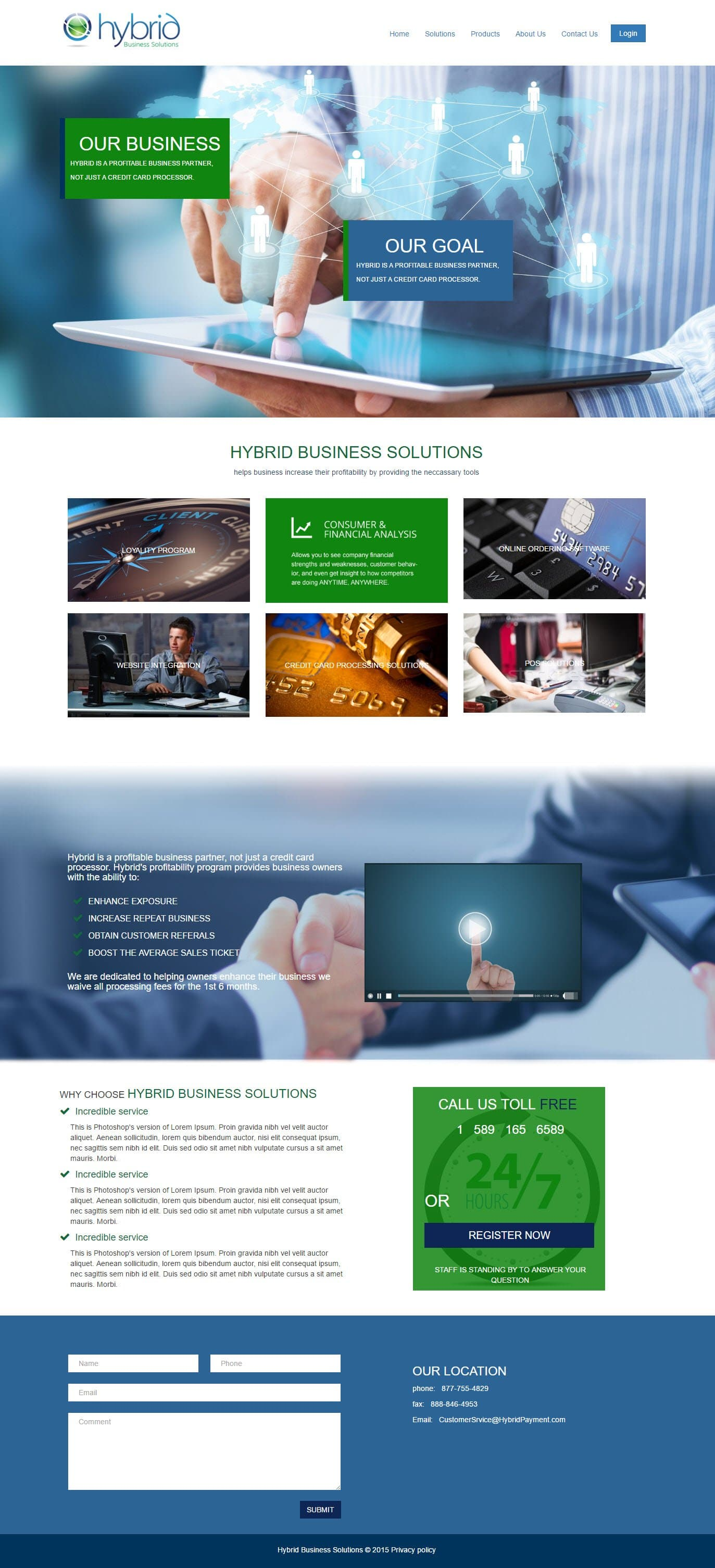 Business Solutions Web Design